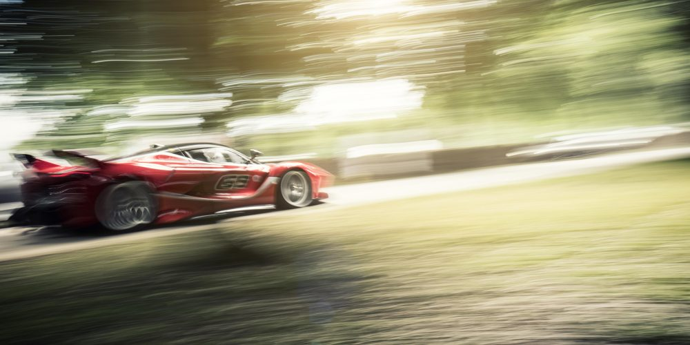 Goodwood Festival of Speed, Track Action