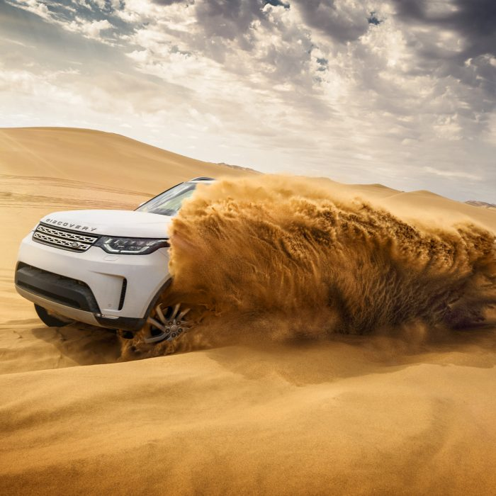 Land Rover Discovery, Nambia