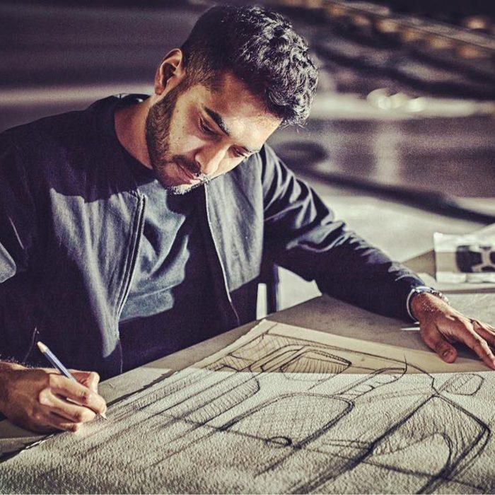 Paven Patel, Jaguar Designer