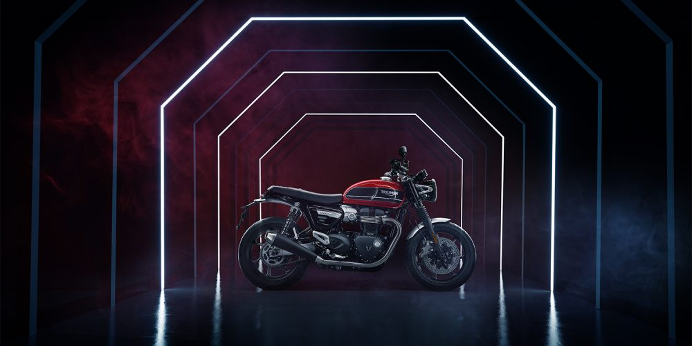 Triumph Motorcycles Speed Twin tease film
