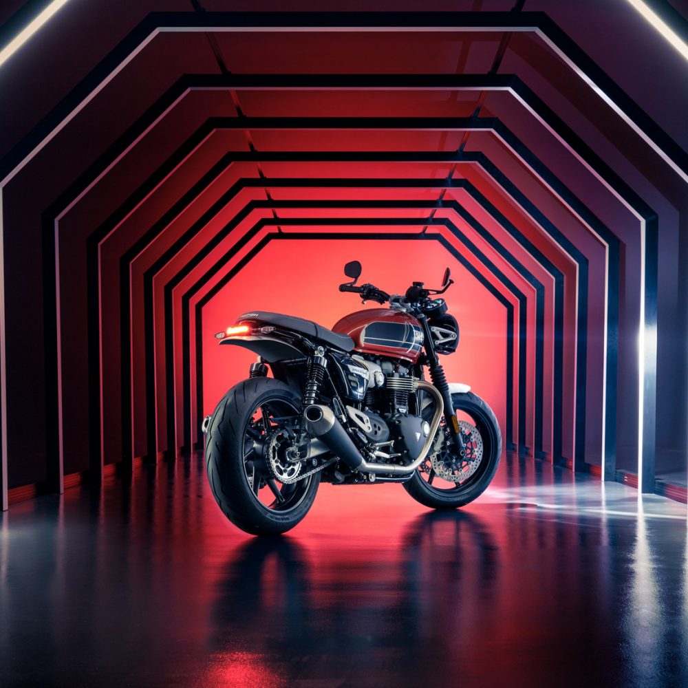 Triumph Motorcycles Speed Twin launch