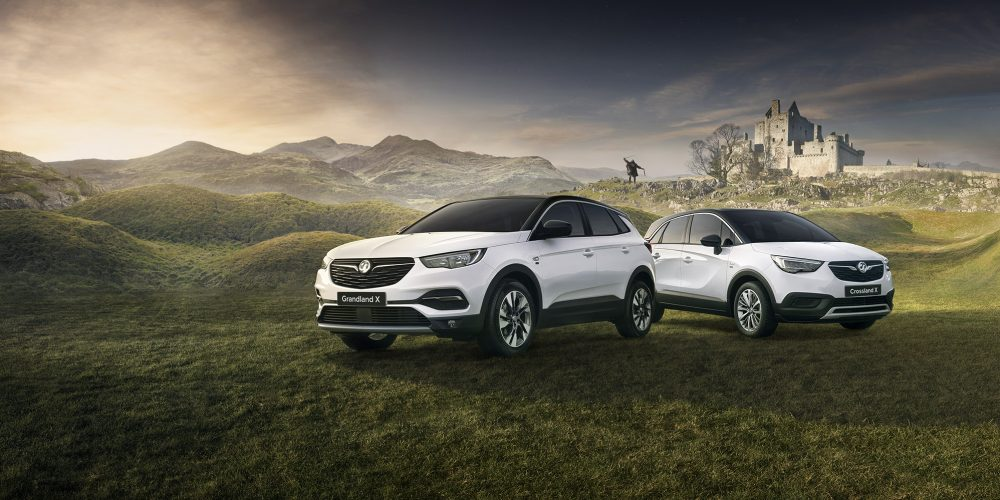 Vauxhall Griffin SUV Campaign
